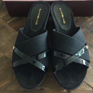 Bandolino BDDONOVAN  Black Sandals Size 8M